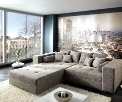 Wohnzimmer Hell Und Modern Modernes Wohnzimmer Braunes Sofa Schiebetür Essbereich Haus