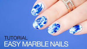 how to do marble nails the easy way sonailicious youtube