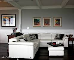 living room ideal light grey paint living room with black rug