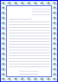 letter writing paper letter writing paper for kids crna cover letter