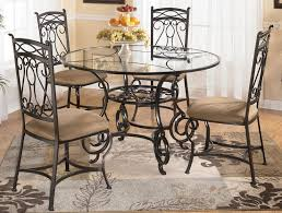 impressive metal dining room table remodelling at exterior gallery