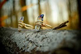 crystal stone rings images Crystal ring bohemian stone ring crystal ring quartz ring jpg