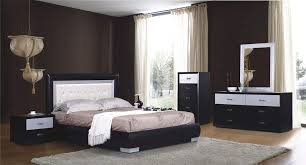 Modern Bedroom Furniture Design by Vera Modern Low Profile Bed Contemporary Bedroom Set Free Shipping