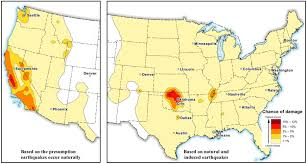Oregon Earthquake Map by Man Made Earthquake Hotspot Revealed Oklahoma