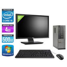 pc bureau puissant ordinateur bureau d occasion pas cher occasion et reconditionné