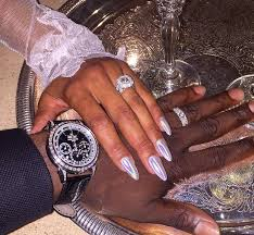 Nails Is Nuts The Daily Upper Decker - breathtaking celebrity engagement rings