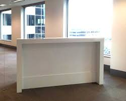 Reception Desk Hire Reception Counter White Gloss Design A Modern Office