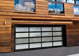 a contemporary facade needs a contemporary garage door dig this