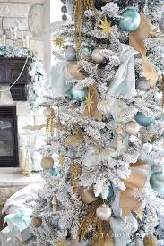 luxury white tree ornaments