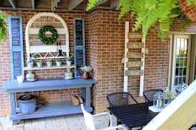 Plant Bench Plans - diy old fence board patio sign our fifth house