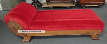 Wooden Frame Couch Furniture Exciting Miniature Fainting Couch With Wood Frame