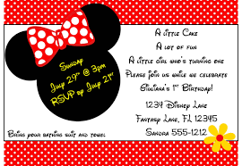 Free Printable Minnie Mouse Invitation Template by Minnie Mouse Invitation Template 4x6