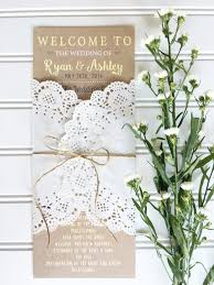 country wedding programs hadley designs wedding programs how to