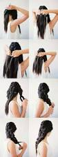 Easy Hairstyles For Straight Medium Length Hair by Best 20 Cool Easy Hairstyles Ideas On Pinterest Teen
