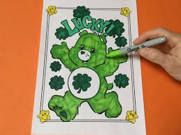u0027s color good luck bear care bear coloring pages kids