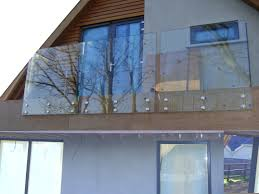 home design come with clear glass balcony in modern style together
