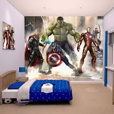 Spiderman Wallpaper For Bedroom Walltastic Wallpaper Wall Murals Kids Bedroom U2013 Peppa Avengers