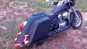 bagger honda shadow ace vt 750 home made youtube