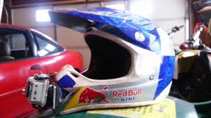 red bull motocross helmets go pro helmet chin mount how to youtube