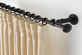 Curtain And Rod Enchanting Curtain Rod Ikea Inspiration With Curtain Rods Rails