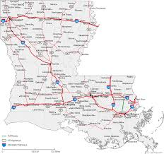 louisiana map in usa united states highway map pdf map us highways 2 maps update 975660