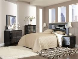 Mirrored Glass Nightstand Bedroom Awesome Mirrored Nightstand With Cowhide Rug And