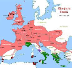 Babylonian Empire Map Map Celtic Empire 700 Bc 100 Bc Britannia England Pinterest