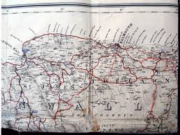 Tre Map Map 12 B1 St James And Trelawny Jamaica West Indies