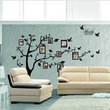 xl 180 250 cm large tree wall sticker photo frame family diy vinyl
