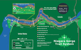 Niagara Falls State Park Map by Niagara Falls Border Clifton Hill Niagara Falls Canada Cher Is