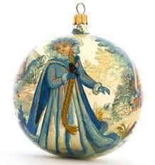 st petersburg russia collectible glass lacquer painted ornament