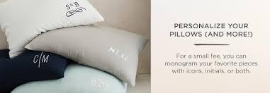 Monogrammed Comforters Monogrammed Bedding West Elm