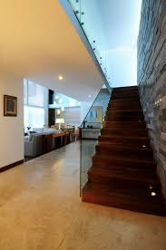 Staircase Wall Design by Interior Design Stone Wall With Awesome Black Stone Tile Texture