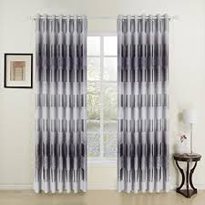 Curtains One Panel Or Two Twopages Modern Print Tree Grommet Top Room Darkening Curtain One