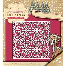 find it trading yvonne creations die snowflake frame