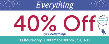 happy everything sale anniversary sale 12 hours only fabric giveaway
