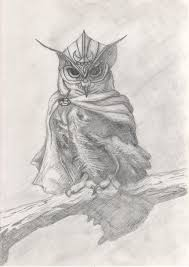 viking owl sketch by hewison on deviantart