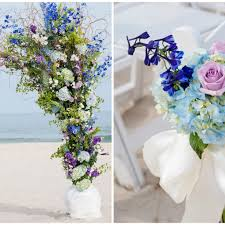 flowers for a beach wedding bald head island club wedding by