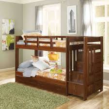 kids girls beds twin bunk beds with stairs white painted oak wood girls bunk bed