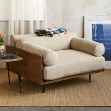 logan chair and a half natural bolster robert redford u0027s