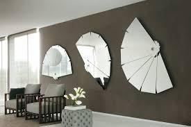 mirrored home decor large modern decorative wall mirrors deboto home design
