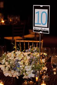 real wedding art deco chic for sports fans part 1 event
