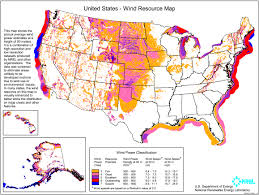 Show The Map Of The United States by How Wind Power Works