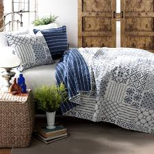 Queen Bedspreads And Quilts Laura Ashley Rowland Reversible Quilt Set Hayneedle