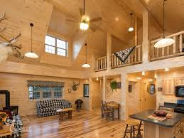 log cabin interior ideas home floor plans designed in pa cabin with loft and full kitchen family weekend home