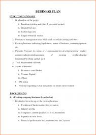 executive brief template contract template word