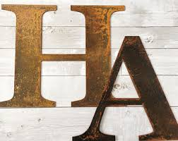 search photo pic metal letters for wall decor home decor ideas