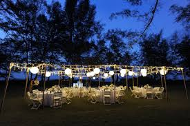 Ideas For Backyard Party by Outdoor Lighting Party Ideas Price List Biz