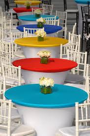table n chair rentals cruiser table spandex toppers table settings linen