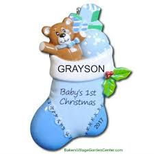 personalized ornaments baby s